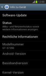Samsung Galaxy Trend Lite - Software - Installieren von Software-Updates - Schritt 6