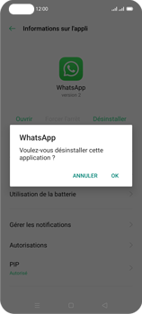 Oppo Reno 4Z - Applications - Supprimer une application - Étape 8