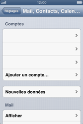 Apple iPhone 3GS - E-mail - Configuration manuelle - Étape 4