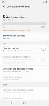 Samsung Galaxy Note20 Ultra 5G - Internet et connexion - Désactiver la connexion Internet - Étape 7