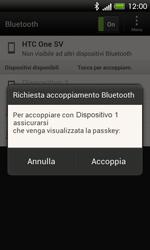 HTC One SV - Bluetooth - Collegamento dei dispositivi - Fase 7