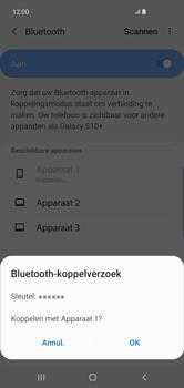 Samsung Galaxy S10 Plus - Bluetooth - headset, carkit verbinding - Stap 8