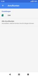 Sony Xperia XZ2 Compact - Android Pie - Anrufe - Rufumleitungen setzen und löschen - Schritt 7