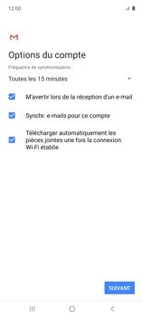 Samsung Galaxy A51 5G - E-mails - Ajouter ou modifier votre compte Yahoo - Étape 12