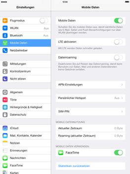 Apple iPad Air - Ausland - Im Ausland surfen – Datenroaming - Schritt 6