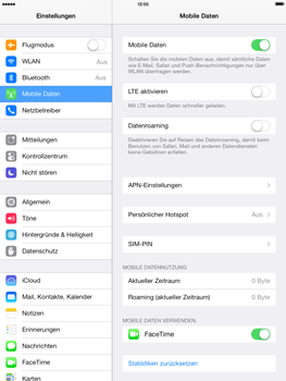 Apple iPad Air - Ausland - Im Ausland surfen – Datenroaming - 6 / 9