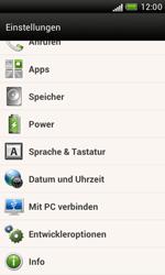 HTC Desire X - Fehlerbehebung - Handy zurücksetzen - 6 / 10