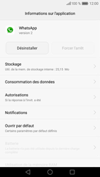 Huawei Huawei P9 - Applications - Comment désinstaller une application - Étape 6