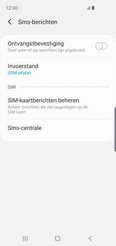 Samsung Galaxy S10e - Berichten - handmatig instellen - Stap 11