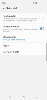 Samsung Galaxy S10 - Rete - Come attivare la connessione di rete 4G - Fase 8