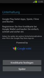 Samsung Galaxy Note 2 - Apps - Konto anlegen und einrichten - 12 / 15