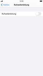Apple iPhone 8 - iOS 13 - Anrufe - Rufumleitungen setzen und löschen - Schritt 5