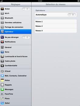 Apple iPad mini - Réseau - utilisation à l'étranger - Étape 9