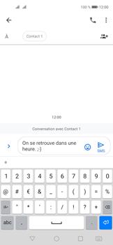 Huawei Nova 5T - Contact, Appels, SMS/MMS - Envoyer un SMS - Étape 9
