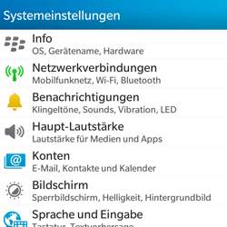 BlackBerry Q5 - Internet - Manuelle Konfiguration - Schritt 4