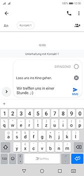 Huawei P20 - Android Pie - MMS - Erstellen und senden - Schritt 13
