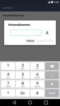 LG V10 - Voicemail - Handmatig instellen - Stap 9