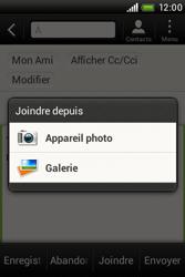 HTC A320e Desire C - E-mail - envoyer un e-mail - Étape 11