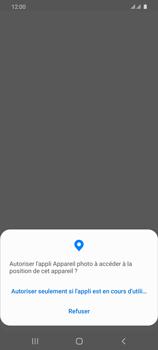 Samsung Galaxy S20 Ultra - Photos, vidéos, musique - Créer une vidéo - Étape 5