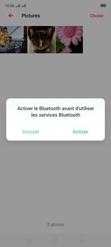 Oppo A9 2020 - Photos, vidéos, musique - Envoyer une photo via Bluetooth - Étape 12