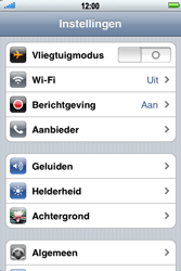Apple iPhone 4 - Internet - Uitzetten - Stap 3