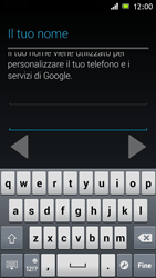 Sony Xperia J - Applicazioni - Configurazione del negozio applicazioni - Fase 6