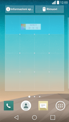LG Spirit 4G - Operazioni iniziali - Installazione di widget e applicazioni nella schermata iniziale - Fase 6