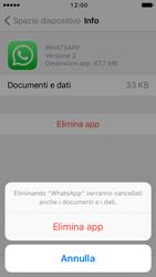 Apple iPhone SE - iOS 10 - Applicazioni - Come disinstallare un