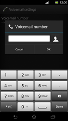 Sony LT30p Xperia T - Voicemail - Manual configuration - Step 7
