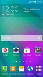 Samsung A300FU Galaxy A3 - mms - wordt niet ondersteund - stap 1