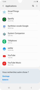 Samsung Galaxy A31 - Applications - Supprimer une application - Étape 8