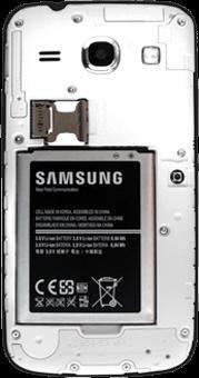 Samsung G3500 Galaxy Core Plus - SIM-Karte - Einlegen - Schritt 9