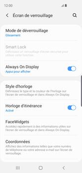 Samsung Galaxy S10e - Sécuriser votre mobile - Activer le code de verrouillage - Étape 5