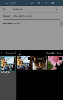 Samsung T335 Galaxy Tab 4 8-0 - E-mail - Sending emails - Step 15