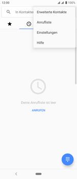 Sony Xperia 10 - Anrufe - Rufumleitungen setzen und löschen - Schritt 5