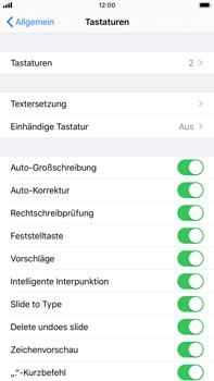 Apple iPhone 8 Plus - iOS 13 - Startanleitung - So fügen Sie eine Tastatursprache hinzu - Schritt 5