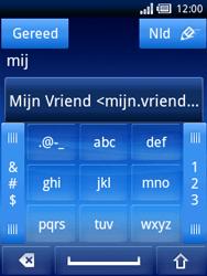 Sony Ericsson Xperia X10 Mini Pro - E-mail - hoe te versturen - Stap 6
