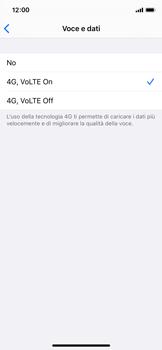 Apple iPhone XS - iOS 13 - Rete - Come attivare la connessione di rete 4G - Fase 7