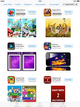Apple iPad mini 4 iOS 10 - Applications - Télécharger des applications - Étape 11