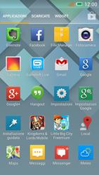 Alcatel One Touch Idol Mini - Rete - Selezione manuale della rete - Fase 3