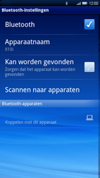 Sony Ericsson Xperia X10 - Bluetooth - koppelen met ander apparaat - Stap 9