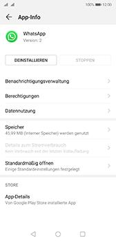 Huawei P20 - Android Pie - Apps - Eine App deinstallieren - Schritt 6