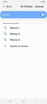 Samsung Galaxy A70 - Internet et connexion - Accéder au réseau Wi-Fi - Étape 7