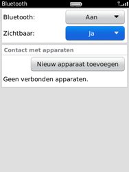 BlackBerry 9800 Torch - bluetooth - aanzetten - stap 6