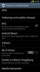 Samsung I9300 Galaxy S III - Netzwerk - Netzwerkeinstellungen ändern - Schritt 5