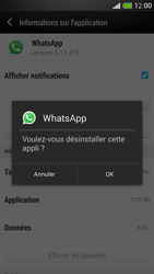 HTC One Mini - Applications - Comment désinstaller une application - Étape 7