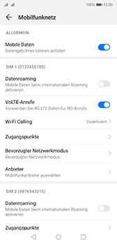 Huawei P20 - Android Pie - Ausland - Auslandskosten vermeiden - Schritt 8