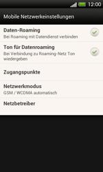 HTC One SV - Internet und Datenroaming - Deaktivieren von Datenroaming - Schritt 5