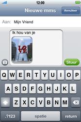Apple iPhone 4 S - MMS - Afbeeldingen verzenden - Stap 11