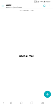 LG Q7 - E-mail - Account instellen (POP3 zonder SMTP-verificatie) - Stap 5